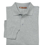Harriton 5.6 oz. Easy Blend Long-Sleeve Polo