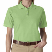 UltraClub Ladies' Whisper Piqué Polo
