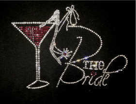 Bride Drink Bling