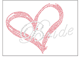 Bride Heart Bling
