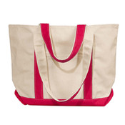x - UltraClub by Liberty Bags Winward Canvas Tote