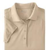 Harriton Ladies'  3.8 oz. Polytech Mesh Insert Polo