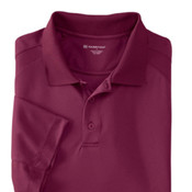 Harriton Men's  3.8 oz. Polytech Mesh Insert Polo