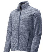 Sport-Tek PosiCharge Electric Heather Soft Shell Jacket